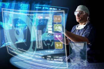 doctor reviewing procedure